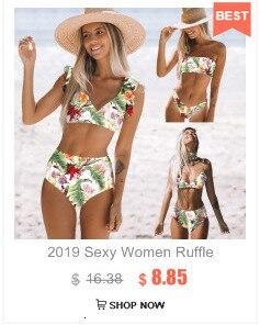 Сексуальный комплект бикини для женщин, Одноцветный бандаж, бикини, полый купальник, летний купальник с высоким вырезом, топ-труба, купальны... 22