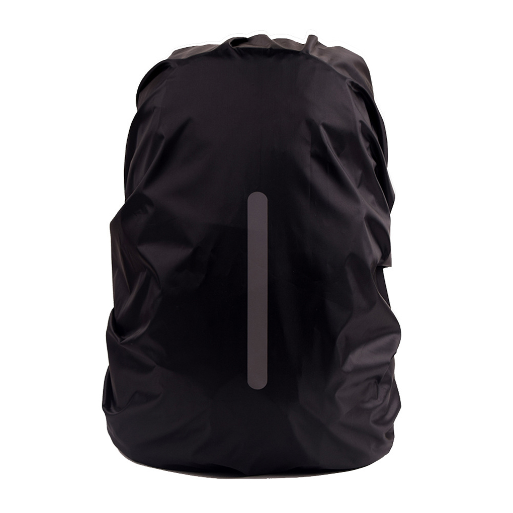 Reflective Outdoor Safe Backpack Rain Cover Waterproof Night Safety Bag Cover Sport Camping Hiking Travel Rainproof Dustproof