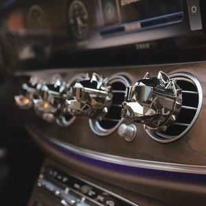 Image 3 - 新クリエイティブブルドッグ芳香剤車の香水車の装飾オートgeurクリップブルドッグ香りパルファムボアチュールカーディフューザー