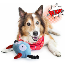 Pet Dog Toys Sounding vibration toy Electric Squeaky Dogs Ball Vocal Bounce Plush Toy Fun for puppy samll Cats product