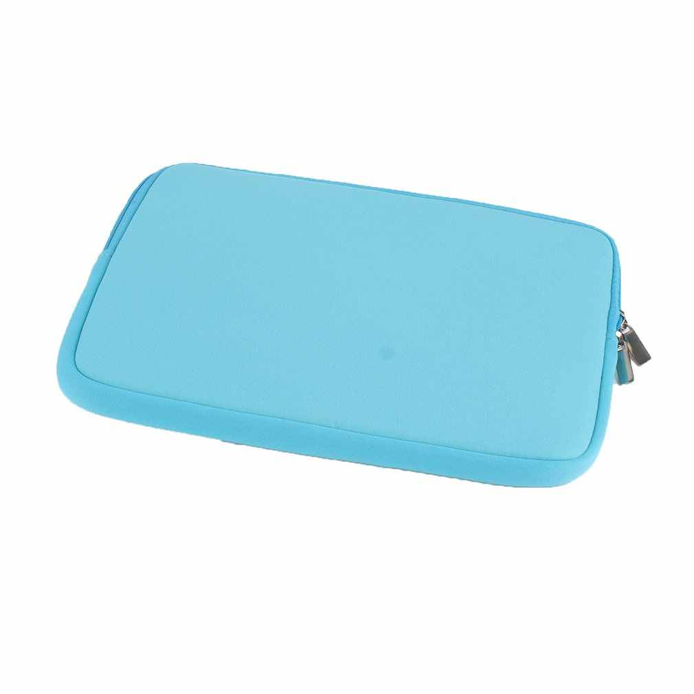 """10 """"pochette pour tablette Portable antichoc Portable deux voies fermeture à glissière en mousse souple étui de protection sac pour ordinateur Portable Macbook"""
