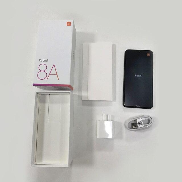 """Original Xiaomi Redmi 8A 8 A 4GB RAM 64GB ROM Mobile Phone Snapdragon 439 Octa Core 6.22"""" 5000mAh 12MP Camera Smartphone Type-C 6"""