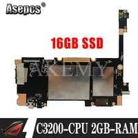 ¡Nuevo! Original para For Asus ZenPad 10 P023 Z300C tabletas portátil placa base mianboard logic board W/ C3200-CPU 2GB-RAM 16GB SSD
