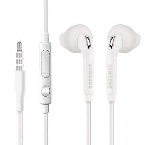 Image 5 - Samsung Original EO EG920 S6 Earphone In ear With control Speaker Wired 3.5mm headsets With Mic 1.2m In ear Sport Earphones