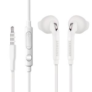 Image 4 - Samsung orijinal EO EG920 S6 kulaklık In ear kontrol hoparlör kablolu 3.5mm kulaklık mikrofon ile 1.2m kulak spor kulaklık