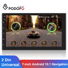Multimedia-Player Stereo-Receiver Car-Radio Podofo Android 2-Din Universal FM Hyundai