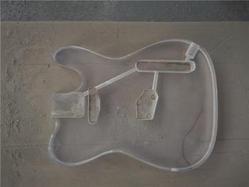 Afanti muzyka DIY gitara zestaw DIY gitara elektryczna ciała (MW-3-351) tanie i dobre opinie none not sure Nauka w domu Do profesjonalnych wykonań Beginner Unisex CN (pochodzenie) Drewno z Brazylii Electric guitar