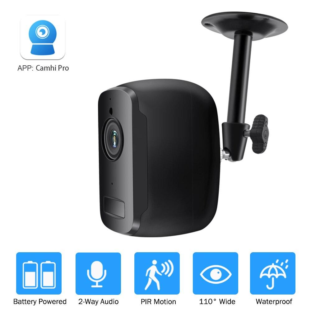 Zilnk câmera ip ao ar livre indoor 1080p hd sem fio wi fi câmera recarregável alimentado por bateria de segurança em casa ip cam camhi pro