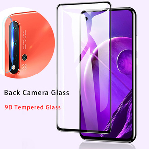 9D Lens Protective Glass for 10i 20i 20S Play Camera Tempered Glass for Huawei Honor 20 Pro Screen Protector for Honor 10 9 Lite(China)