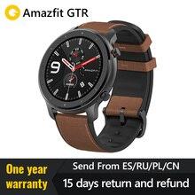 Global Versie 2019 Amazfit Gtr 47 Mm 42 Mmsmart Horloge Redmi Airdotsgps 5ATM Waterdichte 24 Dagen Batterij Bluetooth Muziek