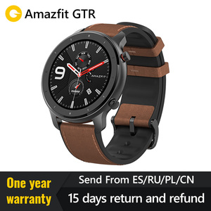 Image 1 - Global Version 2019  Amazfit GTR 47mm 42mmSmart Watch Redmi AirdotsGPS 5ATM Waterproof 24 Days Battery  Bluetooth Music