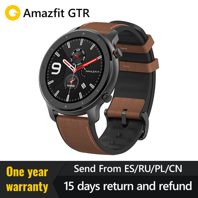 Global Version 2019  Amazfit GTR 47mm 42mmSmart Watch Redmi AirdotsGPS 5ATM Waterproof 24 Days Battery  Bluetooth Music