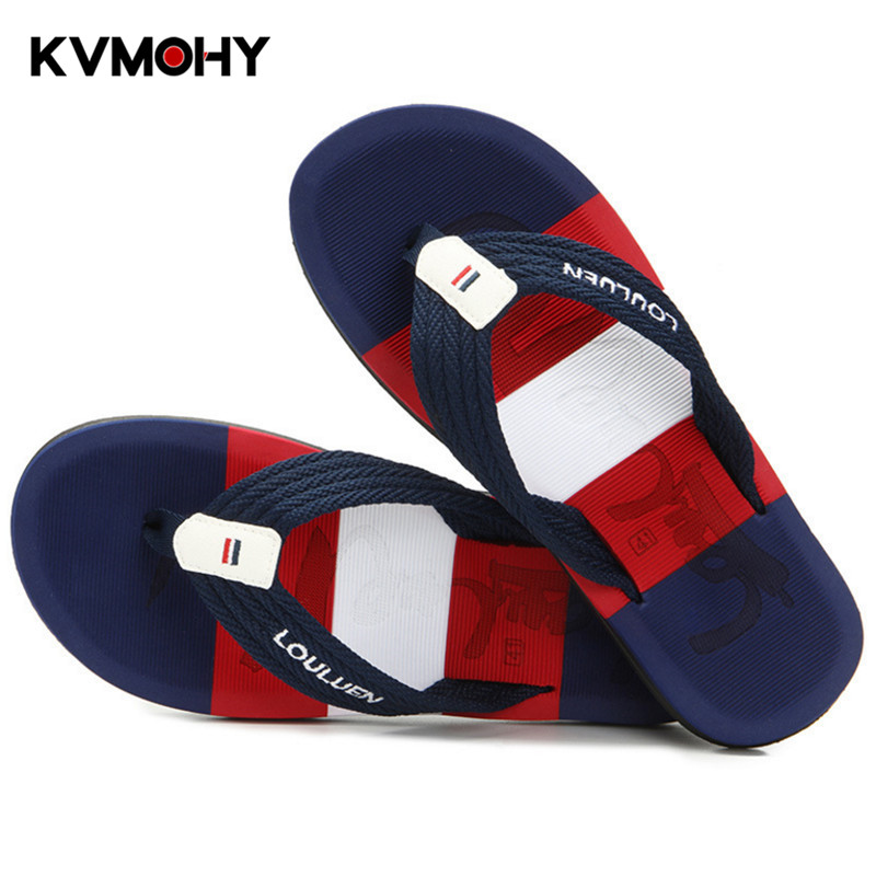 Shoes Men Summer Flip Flops Flats Male Shoe Breathable Beach Slippers Mens Brand Slides Pantuflas shose