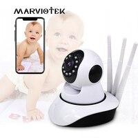 720 p monitor do bebê wifi câmera do bebê com monitor de visão noturna vídeo babá câmera p2p sem fio do telefone do bebê em dois sentidos áudio ir