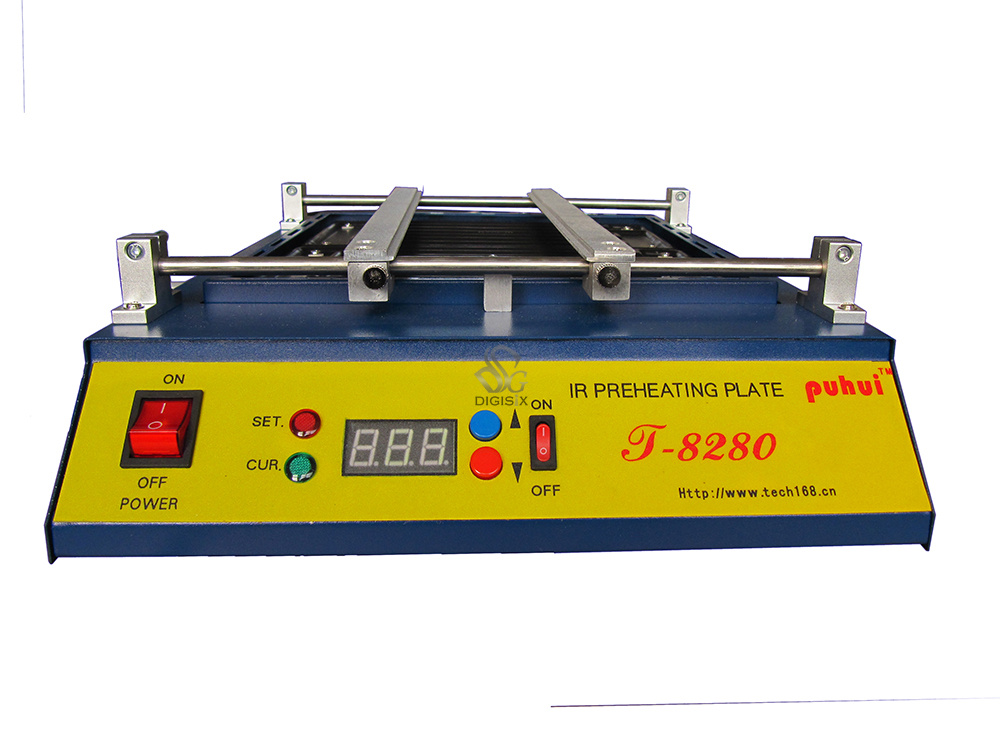 Tools : 220V Or 110V T8280 PCB Preheater T 8280 IR Preheating Plate T-8280 IR-Preheating Oven Dismantling Welding Chip