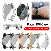 Watch case for Huawei watch GT 2 46mm Soft tpu HD Full Screen Protection Case For Huawei gt 2 watch Protector Cover Accessories