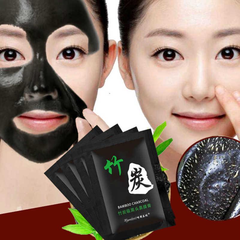 1 個販売竹炭にきび削除顔のマスクディープクレンジング浄化ブラック Nud Facail フェイスマスク