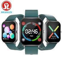 Shaolin relógio inteligente monitor de freqüência cardíaca fitness rastreador smartwatch para apple relógio ios android relógio telefone