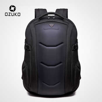 OZUKO Brand Waterproof Oxford Backpack for Teenager 15.6 inch Laptop Backpacks Male Fashion Schoolbag Men Travel Bags Mochilas - DISCOUNT ITEM  45% OFF All Category