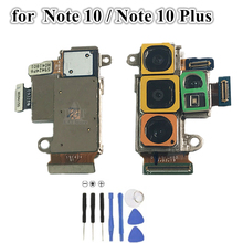 חזרה גדול עיקרי אחורי מצלמה מודול להגמיש כבלים עבור Samsung Galaxy הערה 10 N970 הערה 10 + בתוספת N975 N9760 n976F B חלקי חילוף