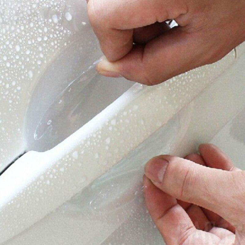 2018 новые наклейки на дверные ручки автомобиля защитная пленка для hyundai IX35 IX45 Sonata Verna Solaris Elantra Tucson Mistra IX25 I30