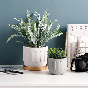 Image 4 - Круглая силиконовая форма для цветочного горшка, креативная форма для бетонных горшечных растений
