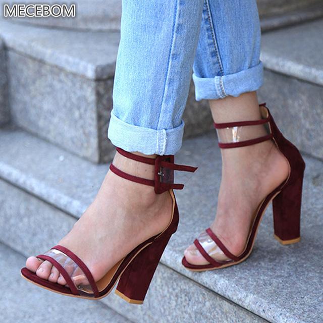 Woman Pumps Sandals High Heels