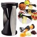 Овощной спирилизатор, резак, кабачки, макаронные изделия, лапша, спагетти, спиральный слайсер в комплекте