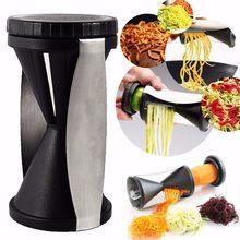 Cortador de legumes espiralizador, abobrinha, macarrão, espaguete, fatiador espiral, pacote completo