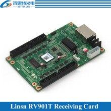 LINSN – carte de réception RV901, écran couleur, fonctionne avec Linsn TS802D, carte d'envoi