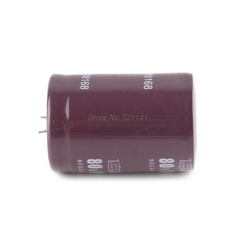 80V 10000uF Electrolytic Filter Capacitor Current Condenser For Audio Amplifier