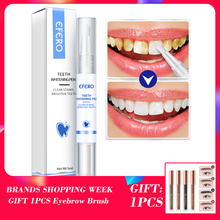 EFERO Teeth Whitening Pen Cleaning Serum Remove Plaque Stains Dental Tools Oral Hygiene Tooth Gel Whitening Tooth Serum Pen 1Pcs 1pcs teeth whitening pen tooth brush essence oral hygiene cleaning serum remove plaque stains dental tools toothpaste toothbrush