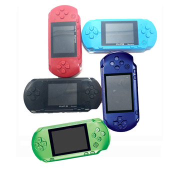 3'' Portable 16 Bit Retro PXP3 Slim Station Video Games Player Handheld Game Console Game Card built-in 150 Classic Games gift