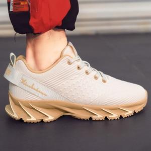 Image 3 - Nieuwe Lente Herfst Casual Schoenen Mannen Grote Size39 44 Sneaker Trendy Comfortabele Mesh Mode Lace Up Volwassen Mannen Schoenen Zapatos hombre