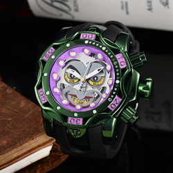 Luxury Brand Joker Watch Men Big Size Quartz Movement Waterproof Business Sports Men's Gold Wristwatch Clock Dropshipping
