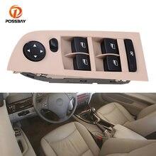 Posbay Автомобильная бежевая панель зеркало переключатель управления