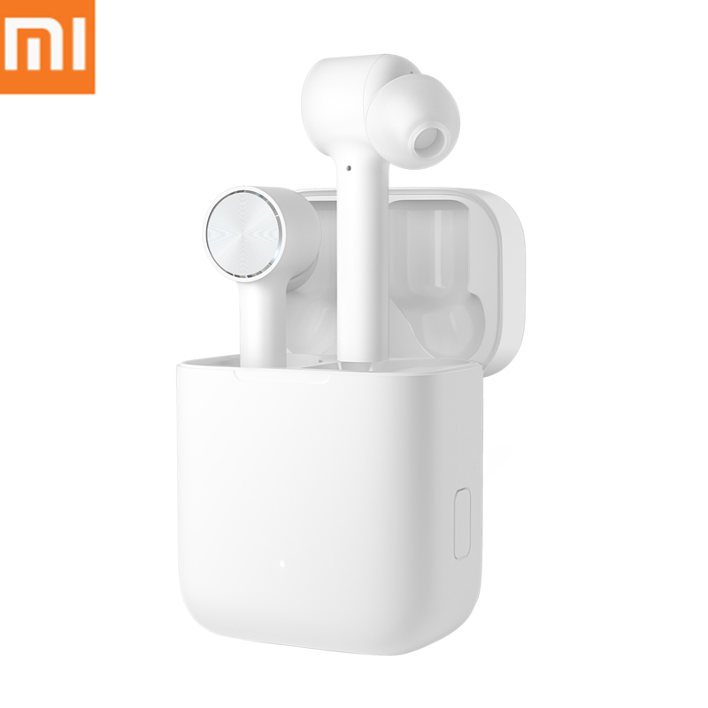 Original Xiaomi Air TWS True Wireless Bluetooth Earphone MI Air AAC Sound AI Control Touch Headset Earbuds For IOS Android