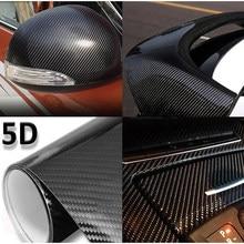 3D / 5D Carbon Fiber Vinyl film DIY Car Tuning Part Stickers Car Wrap Roll Film Styling Accessories Motorcycles Decals