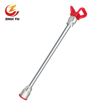 цена на 1Pc 20 Inch Airless Sprayer Paint Tool Extension Pole 50Cm With Tip Guard Nozzle Seat  Spray Gun Tool Parts