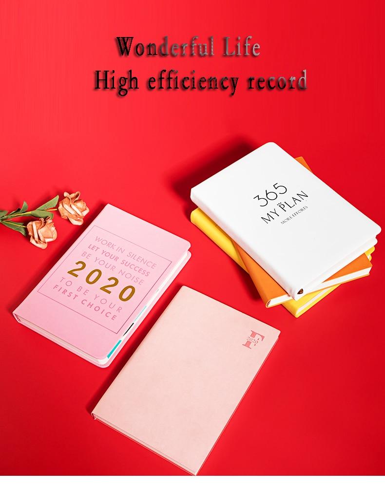 Hot Promo C809 Agenda 2020 365 Days Diary Personality Creative