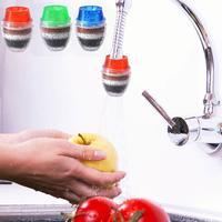 Thuis 5 Lagen Waterzuiveraar Filter Actieve Kool Filtratie-in null van Woninginrichting op