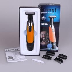Kemei One Blade Men's Electric Shaver Body Face Electric Razor for Men Stubble Trimmer Beard Shaving Edge Trimer Head Trimmer 35