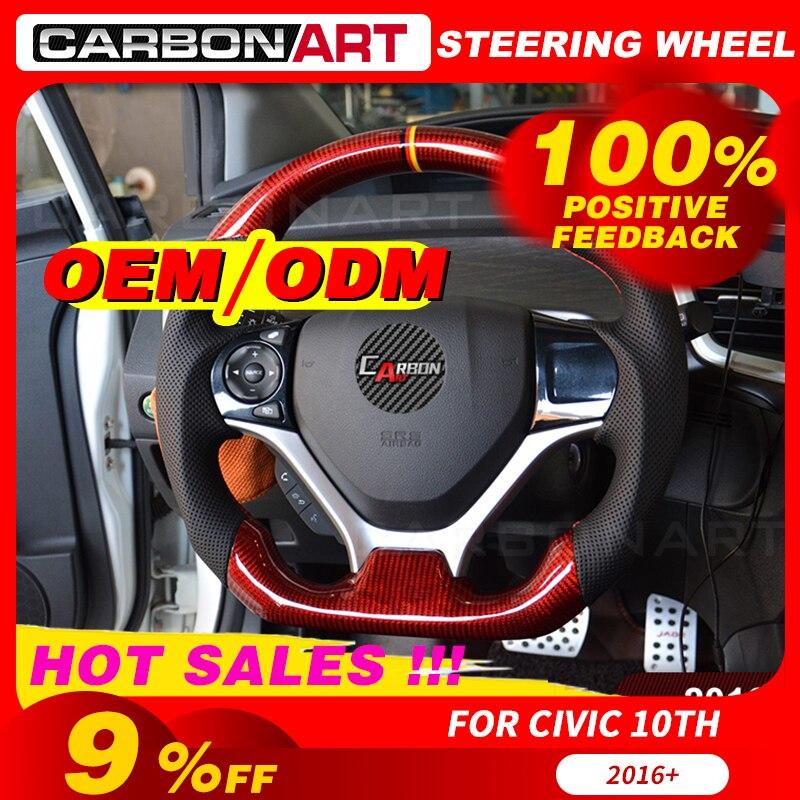 تخصيص سيارة التصميم عجلة القيادة اكسسوارات السيارات لهوندا أوديسي سبيور أكورد اليشم 250 استبدال