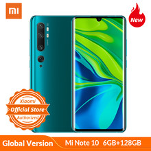 Versão global xiaomi mi nota 10 6 gb 128 gb 108mp penta câmera smartphone snapdragon 730g 5260 mah 30 w rápido 6.47 amamamoled display(China)