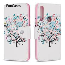 Flip Cases Covers For case Huawei P Smart Z Little Tree Flip Book Case sFor Huawei hoesje Y9 Prime 2019 Enjoy 10 Plus Estuche(China)