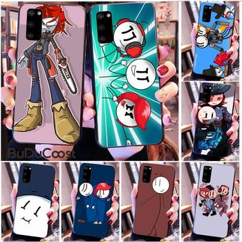 Diseny The henry stickmin collection Phone Case for Samsung S20 plus Ultra S6 S7 edge S8 S9 plus S10 5G image