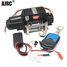 RC Metal Automatic Double Motor Simulated Winch For 1/10 RC Crawler Car Axial SCX10 TRAXXAS TRX4 RC4WD D90 D110 TF2 Tamiya CC01