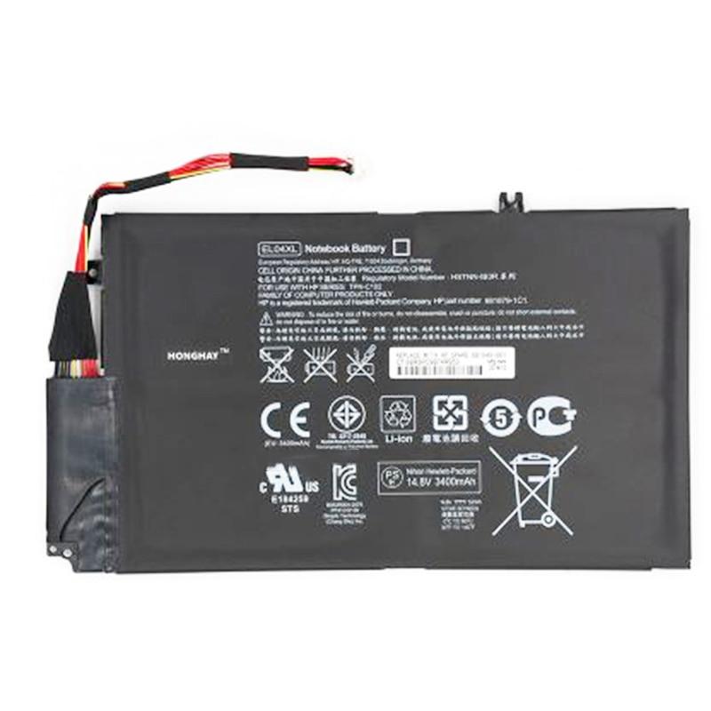 GZSM Laptop Battery EL04XL For HP EL04 HSTNN-UB3R HSTNN-IB3R 681949-001 Battery ENVY 4 4-1035tx 4-1039TX 4-1030CA Series Battery