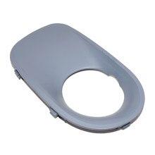 Beler 1Pc nowy czarny prawy przedni zderzak pokrywa światła przeciwmgielne soczewka lampy wykończenia Bezel maskownica do BMW X5 E53 2003 2004 2005 2006 51117129300
