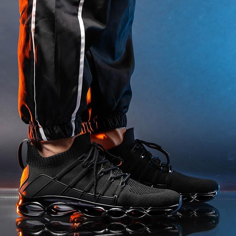 He32b143e207142419154dc8e2f307679k New Fishbone Blade Shoes Fashion Sneaker Shoes for Men Plus Size 46 Comfortable Sports Men's Red Shoes Jogging Casual Shoes 48